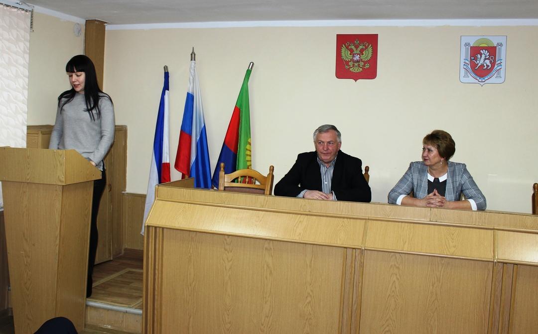 Галина Мирошниченко провела аппаратное совещание с руководителями организаций, учреждений района, начальниками структурных подразделений администрации
